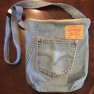 Levi's Upcycled Crossbody Bag